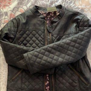 OshKosh B'gosh Jackets & Coats - Toddler girls faux leather jacket.